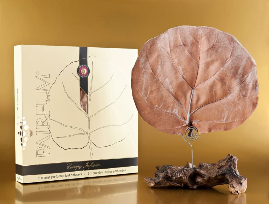 natural botanical leaf diffuser