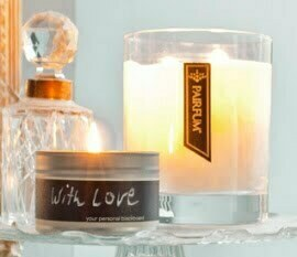 Love Candle - Write Your Message Of Love On A Candle