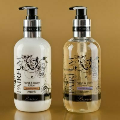 organic hand wash & body lotion