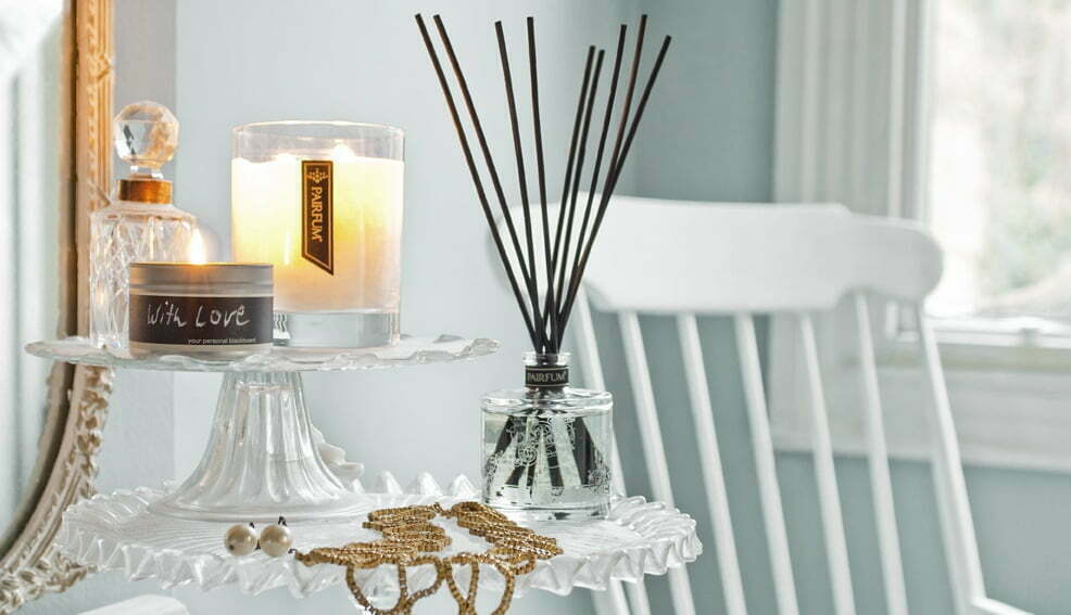 Luxury Scented Candles Fragrance Reed Diffusers Layer