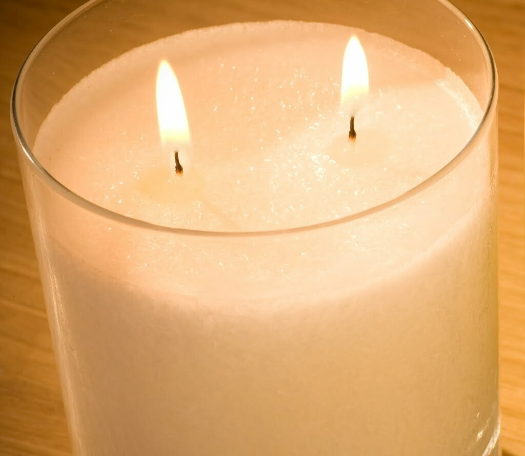 Multi Wick Candles Natural Large Perfumed Candles Snow Crystal Candles By Pairfum