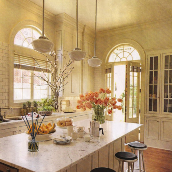 PAIRFUM natural reed diffuser on the marble top of a luxurious kitchen
