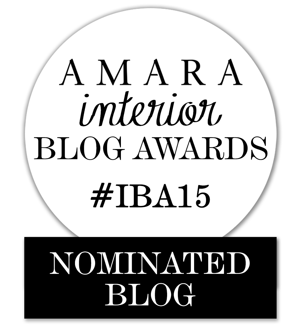 2015 Amara Interior Blog Award best luxury blog perfume home fragrance skin care nominated blog