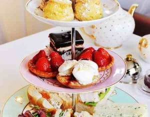 Champagne Afternoon Tea Week Cake Stand Home Fragrance Perfume