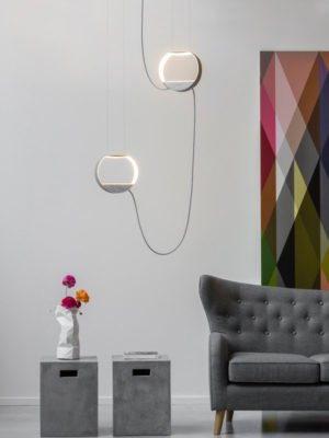 eau de lumiere pendant light home fragrance