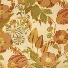 PAIRFUM 70s trend floral pattern room fragrance deep greens