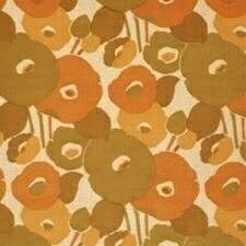 PAIRFUM 70s trend floral pattern room fragrance brown & round
