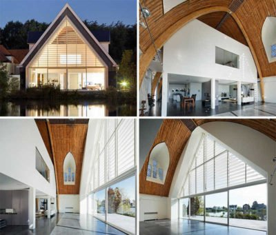 Churches Converted Into Contemporary Homes 1