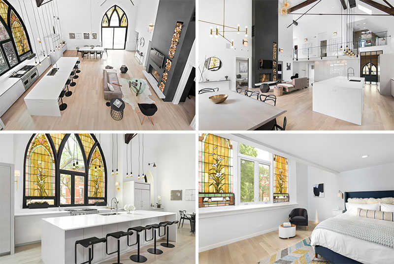 Churches Converted Into Contemporary Homes 2