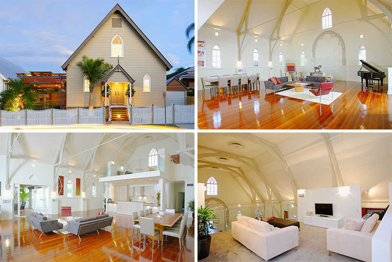 Churches Converted Into Contemporary Homes 3