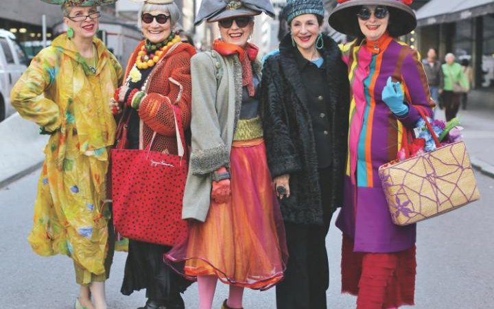 Fashion Defying Ageism Advanced Style Stars New York