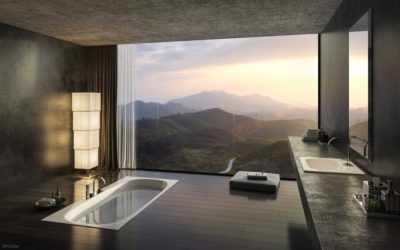 Luxury Bathrooms With Superb Views Mountains