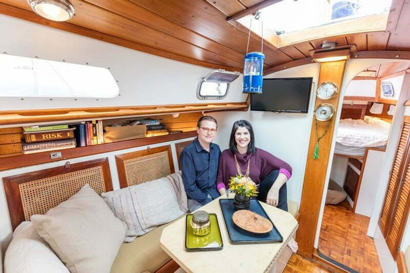 New Yorkers Traded Apartment Sailboat