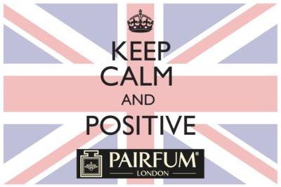 PAIRFUM Keep Calm And Positive