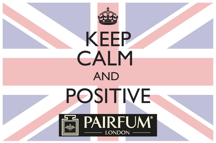 PAIRFUM Keep Calm And Positive