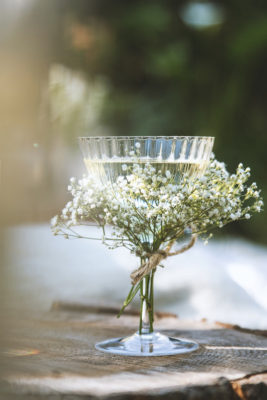 Scandinavian Picnic Midsummer Flowers Cocktail
