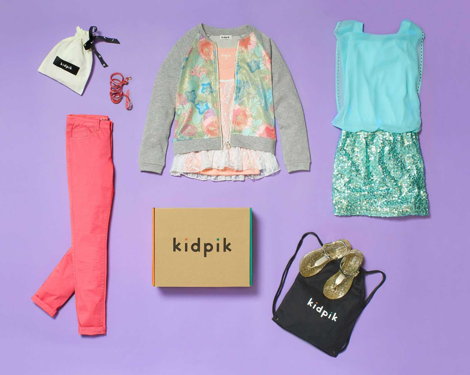 Kidswear Clothing Subscription Present Kidpik