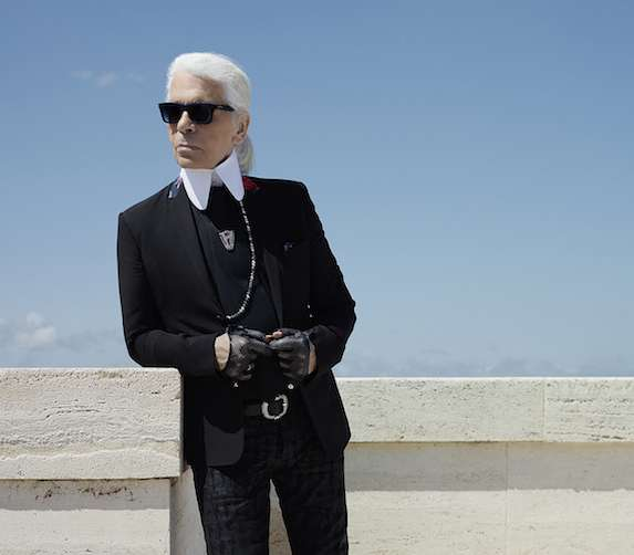 living in karl lagerfeld