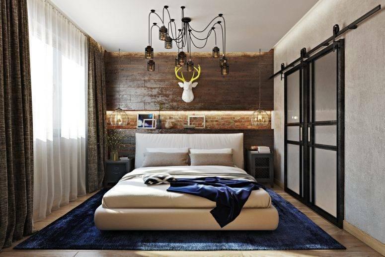Modern Meets Industrial In This Bedroom