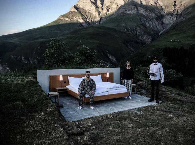 Multi Sensorial Sleep Open Air Hotel