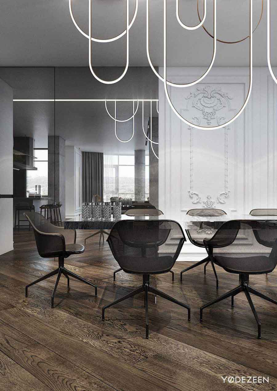 apartment-blends-modern-classic-dining-room