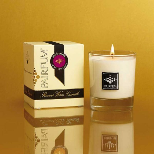 Pairfum Flower Wax Candle Black Orchid