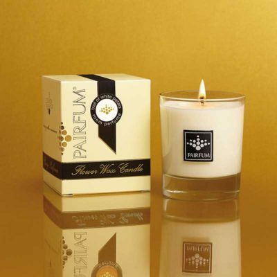 Pairfum Flower & Soy Wax Candles Trail White Petals