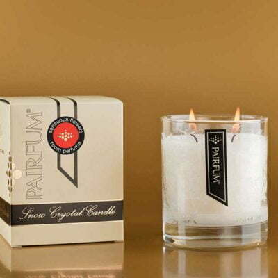 Pairfum Snow Crystal Fragranced Candles Classic Sensuous Flowers