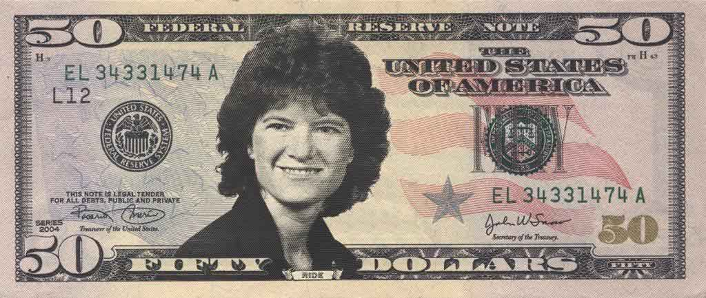 Sally Ride International Womens Day