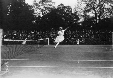 Suzanne Lenglen Tennis Player 1920 International Womens Day