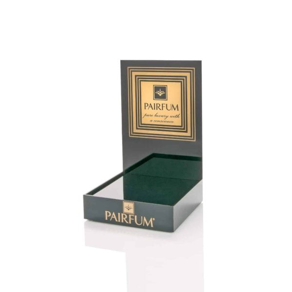 Pairfum Black Acrylic Display Plinth Luxury Candle Reed Diffuser