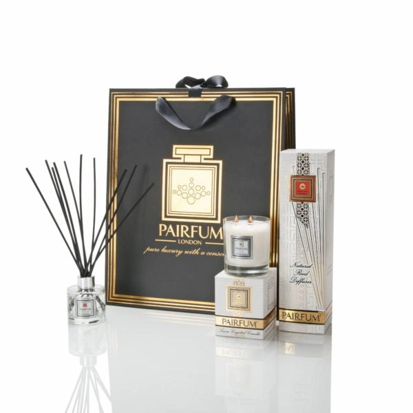 Pairfum Home Fragrance Giftbag Classic Fragranced Candle Reed Diffuser Tower