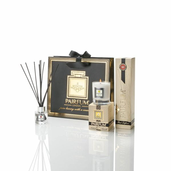Pairfum Home Fragrance Giftbag Luxur Scented Candle Reed Diffuser Tower