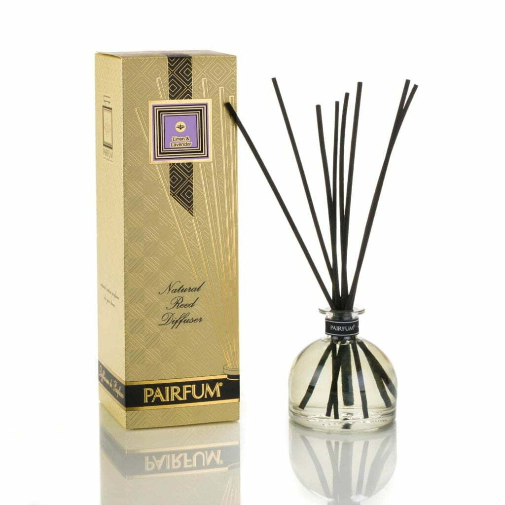 Pairfum Large Reed Diffuser Bell Signature Linen Lavender