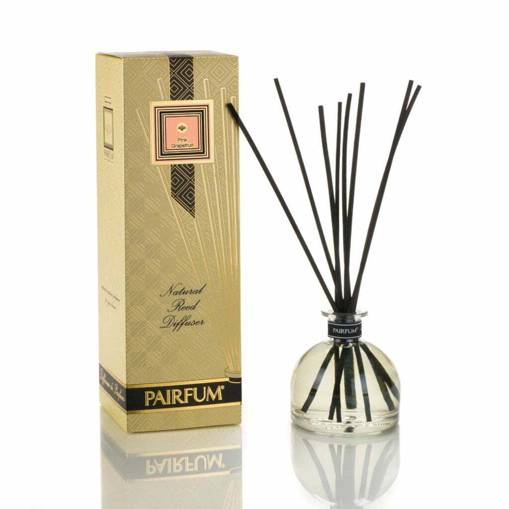 Pairfum Large Reed Diffuser Bell Signature Pink Grapefruit