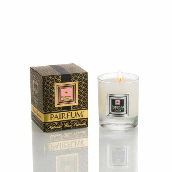 Pairfum Natural Wax Candle Noir Pink Powder Violet