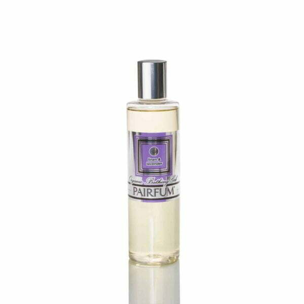 Pairfum Organic Bathing Gel Bath Oil Linen Lavender