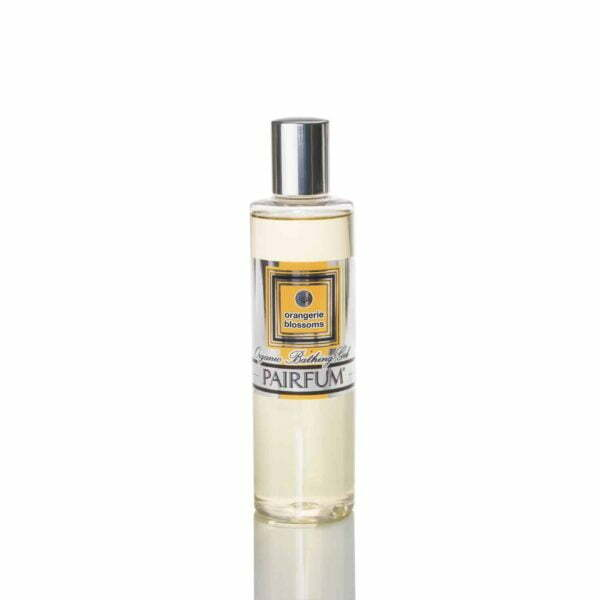 Pairfum Organic Bathing Gel Bath Oil Orangerie Blossoms