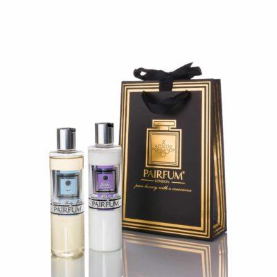 Pairfum Skin Care Giftbag Organic Pre Biotic Body Lotion Wash Oil