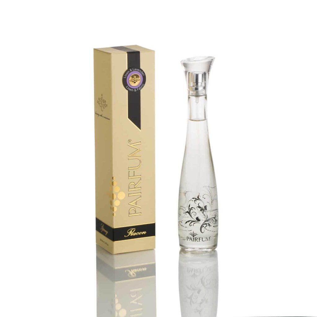 Pairfum Flacon Perfume Linen Fabric Signature Linen Lavender