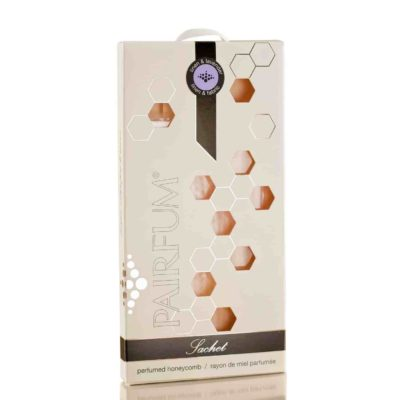 Pairfum Scented Sachet Honeycomb Linen Lavender White