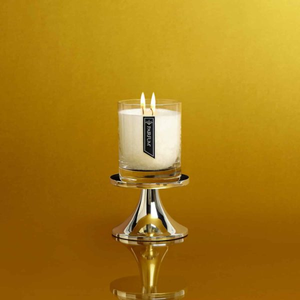 Pairfum Silver Pedestal Classic Candle Gold