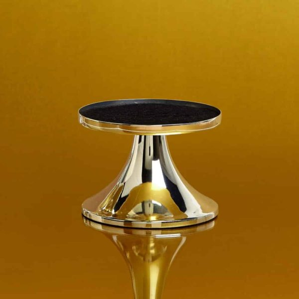 Pairfum Silver Pedestal Classic Gold