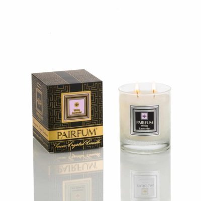 Pairfum Snow Crystal Candle Classic Noir White Lavender