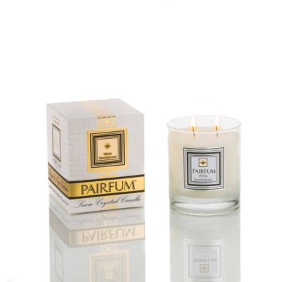 Pairfum Snow Crystal Candle Classic Pure White Sandalwood