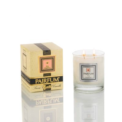 Pairfum Snow Crystal Candle Classic Signature Pink Grapefruit