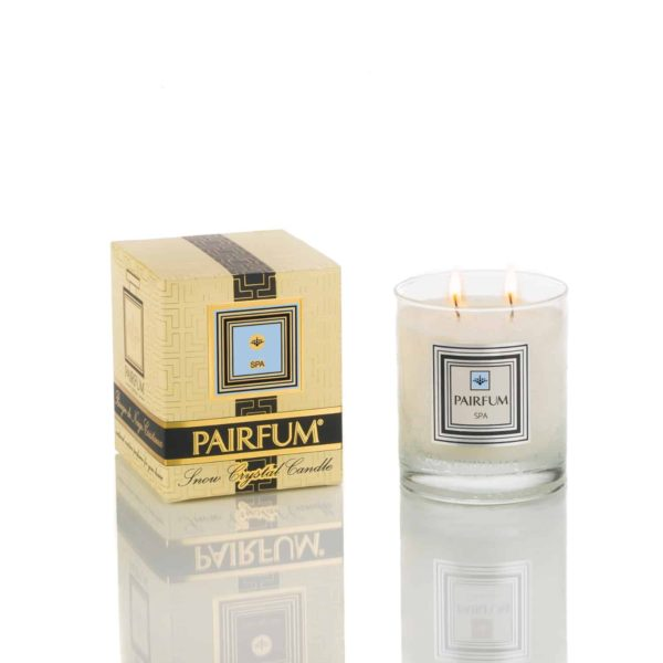 Pairfum Snow Crystal Candle Classic Signature Spa