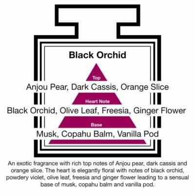 Fragrance Description Black Orchid Pear Freesia Vanilla Musk