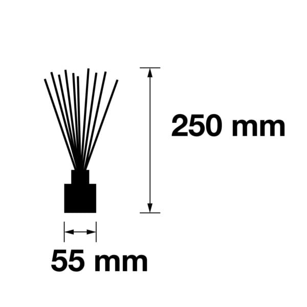 Pairfum Infographic Reed Diffuser Tower Size 50 Ml