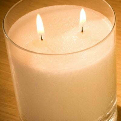 Pairfum Snow Crystal Candle Top Natural Luxury Scented